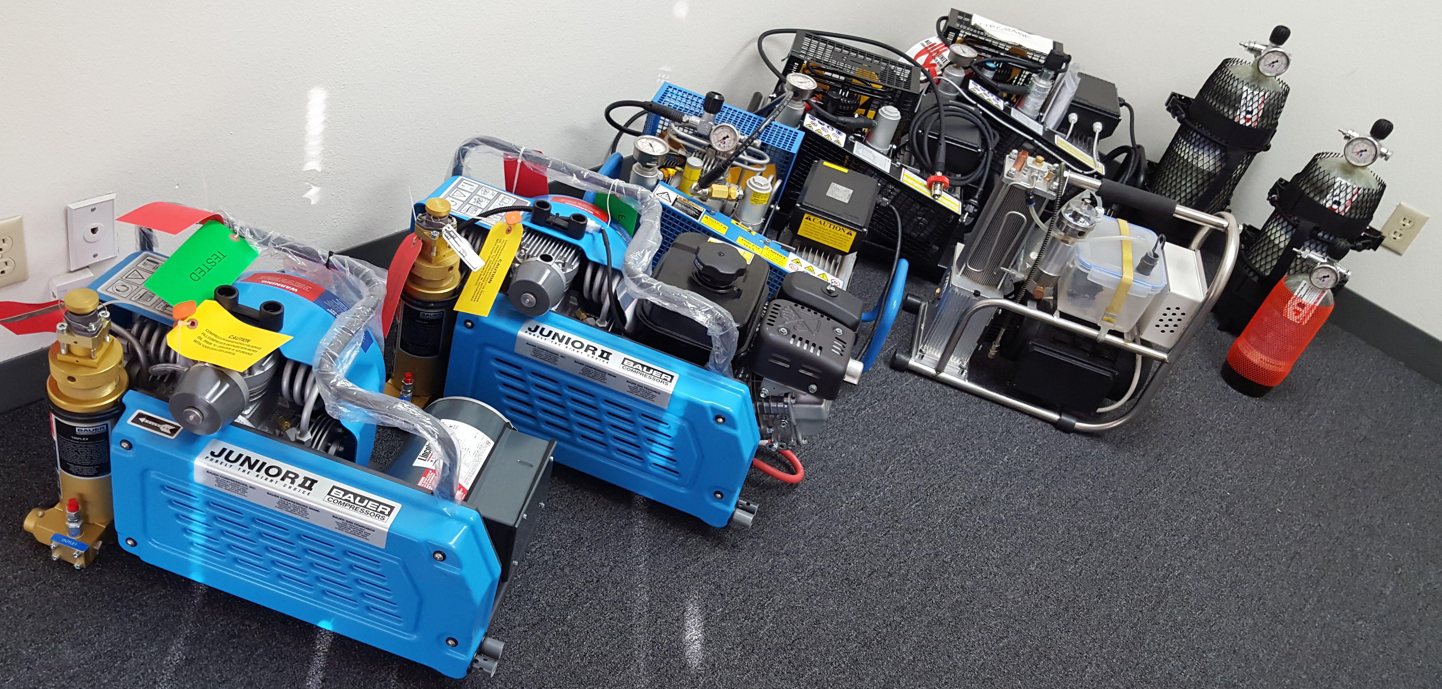 Bauer Compressors for PCP Airguns